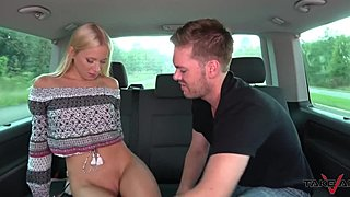Takevan - sweet blond stripling lost shoe and fuck for contemporary duett